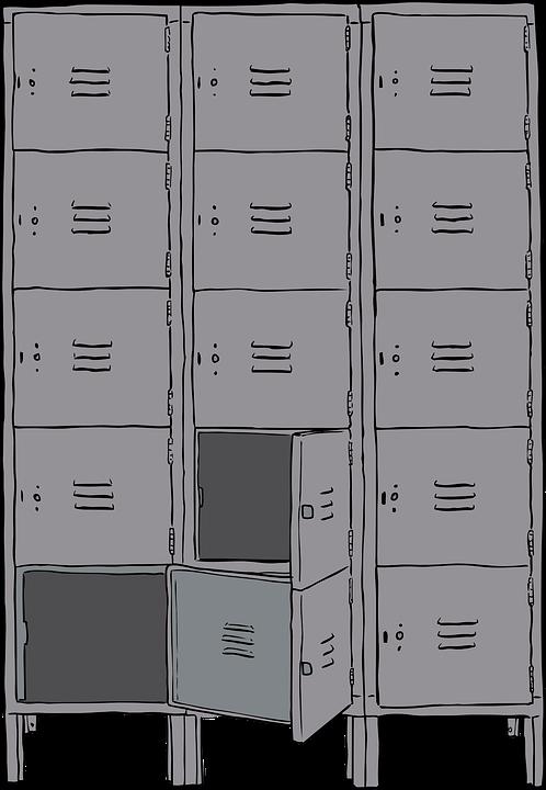 duża szafa aktowa metalowa